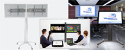 Stands & workstations for video conference systems